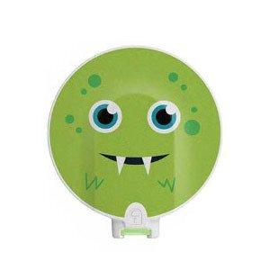 Oryginalna osłonka serii Design Covers na cewkę MED-EL DL - zielony potworek (1)