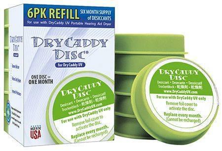 Dry Caddy UV wkłady uzupełniające - 6 sztuk (1)