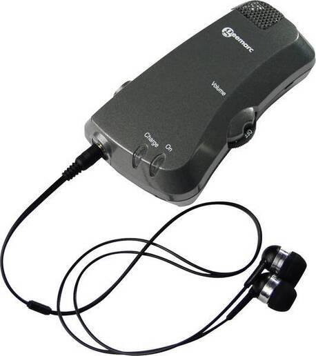 Osobisty wzmacniacz dźwięku z odbiornikiem pętli indukcyjnej Geemarc LoopHEAR LH10 (1)