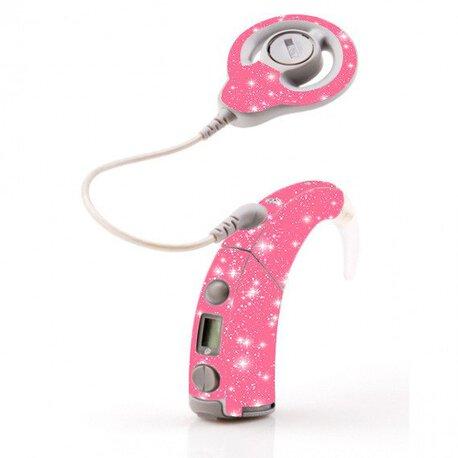 Skórka na procesor Cochlear Freedom - różowy (1)