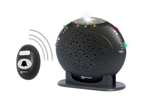 Bezprzewodowy dzwonek do drzwi z sygnalizacją świetlną, dźwiękową i wibracją GEEMARC AMPLICALL 20 (1)