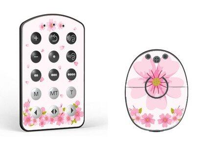 Skórka na procesor MED-EL Rondo 2 - kwiatki (1)