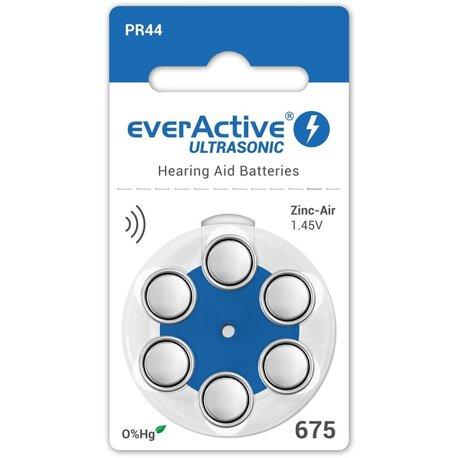 Baterie everActive ULTRASONIC 675 blister (6 sztuk) (1)