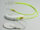Zawieszka podwójna - neon zółty (4)