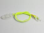 Zawieszka podwójna - neon zółty (2)