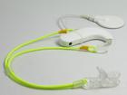 Zawieszka podwójna - neon zółty (3)